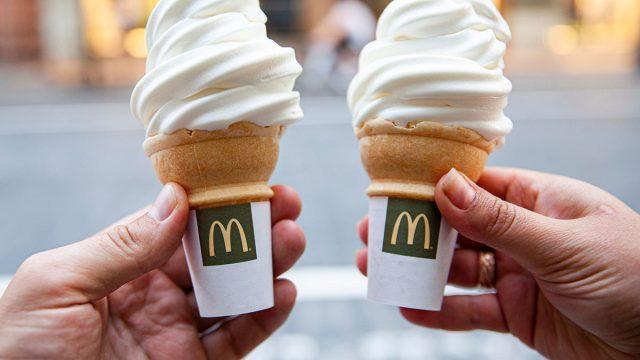 Mcdonalds cones