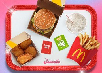 mcdonalds saweetie meal