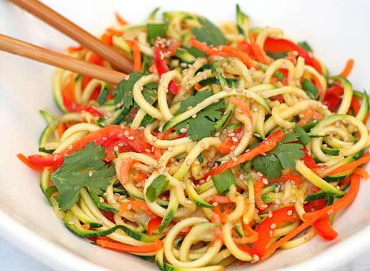miso zucchini noodles