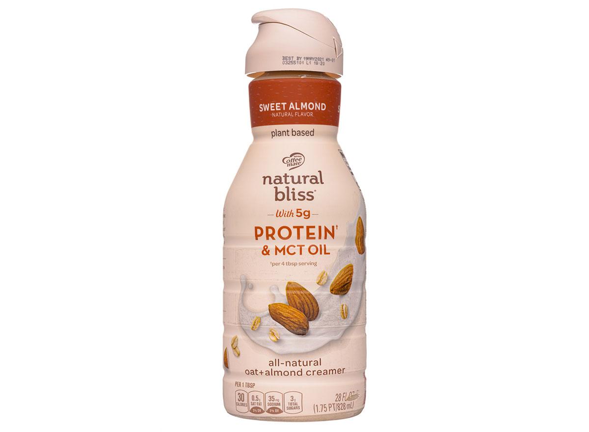natural bliss sweet almond creamer