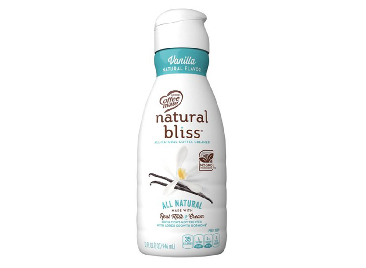 natural bliss vanilla creamer