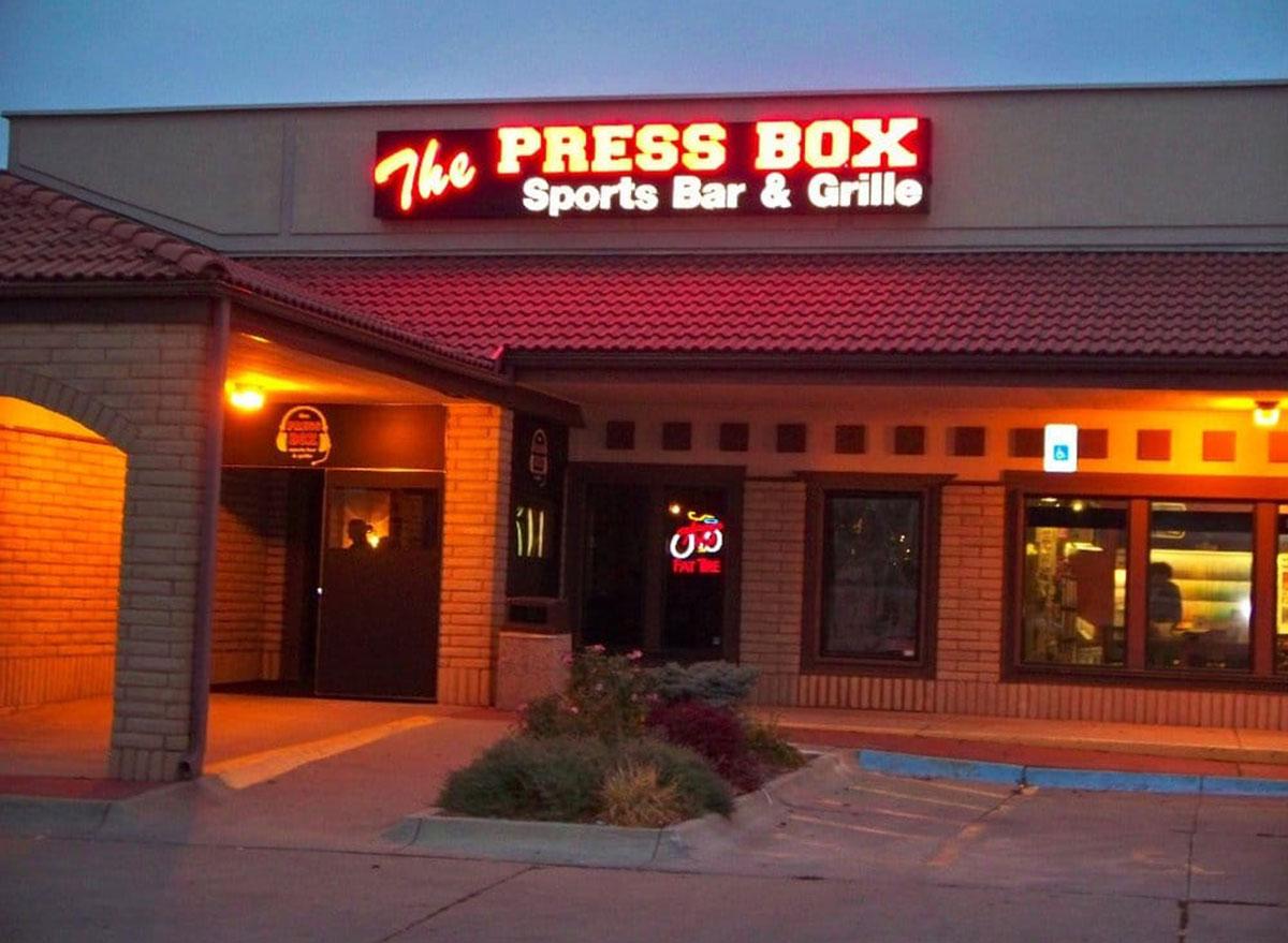 nebraska press box sports bar