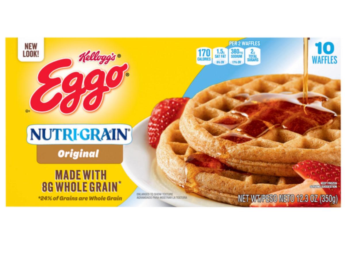 nutrigrain eggo waffles