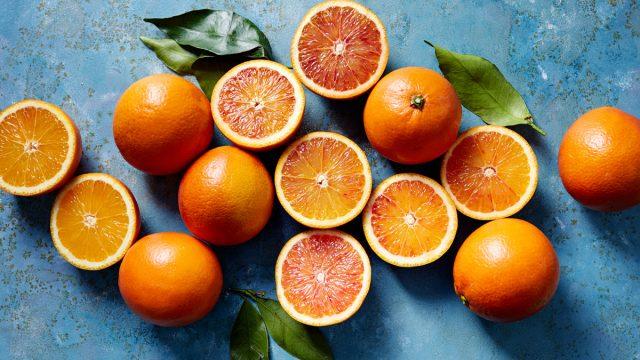 half blood orange