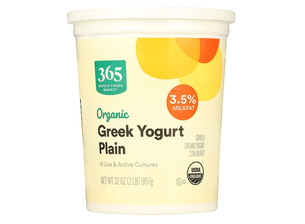 organic greek yogurt 365
