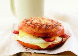 panera bacon egg cheese