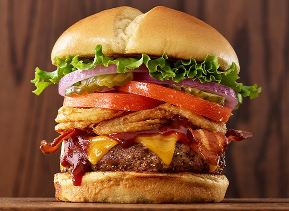 perkins bbq tangler burger