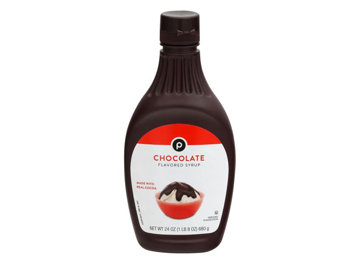 publix chocolate syrup