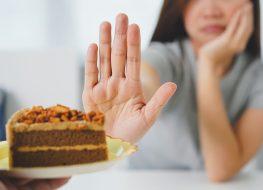 refusing cake