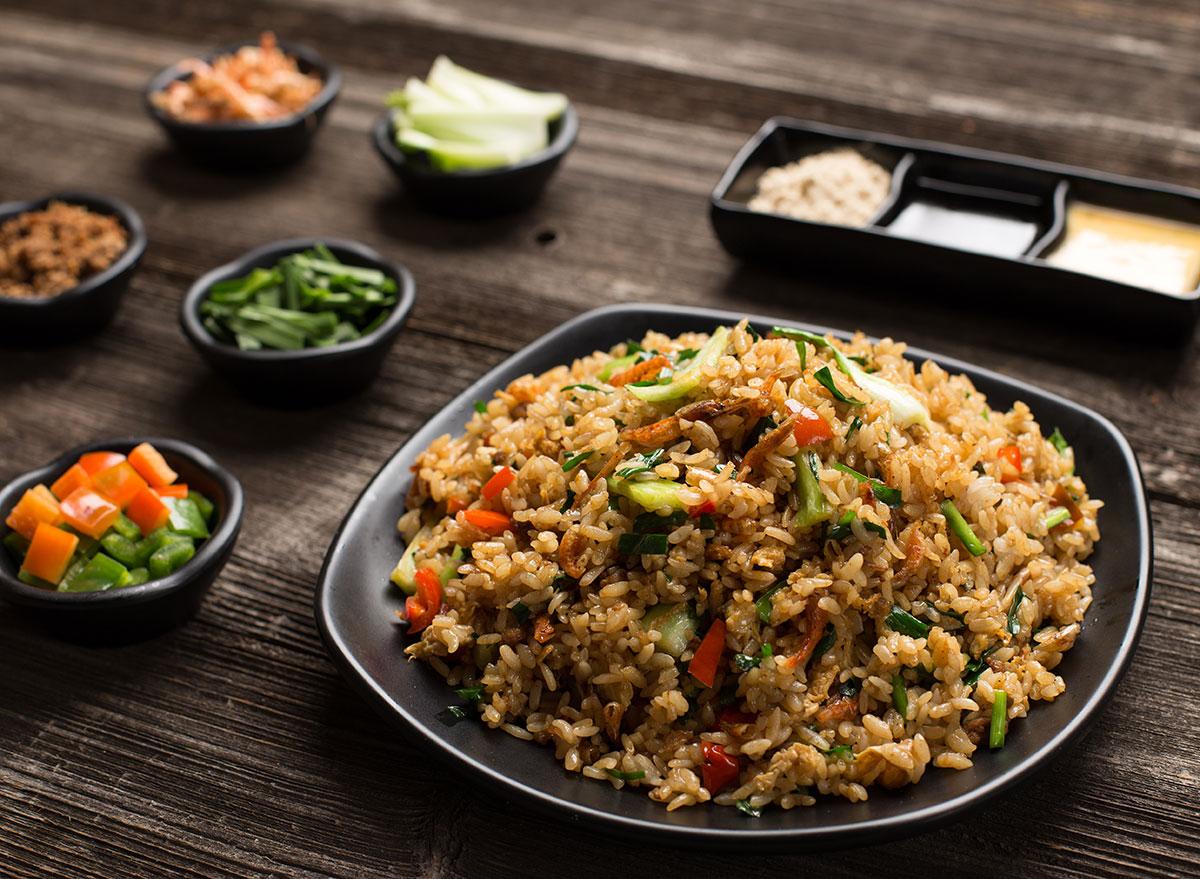 restaurant fried rice