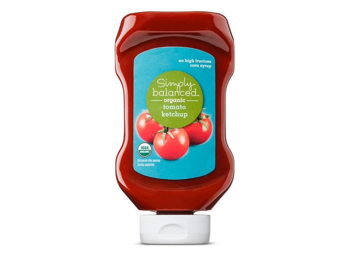simply balanced tomato ketchup