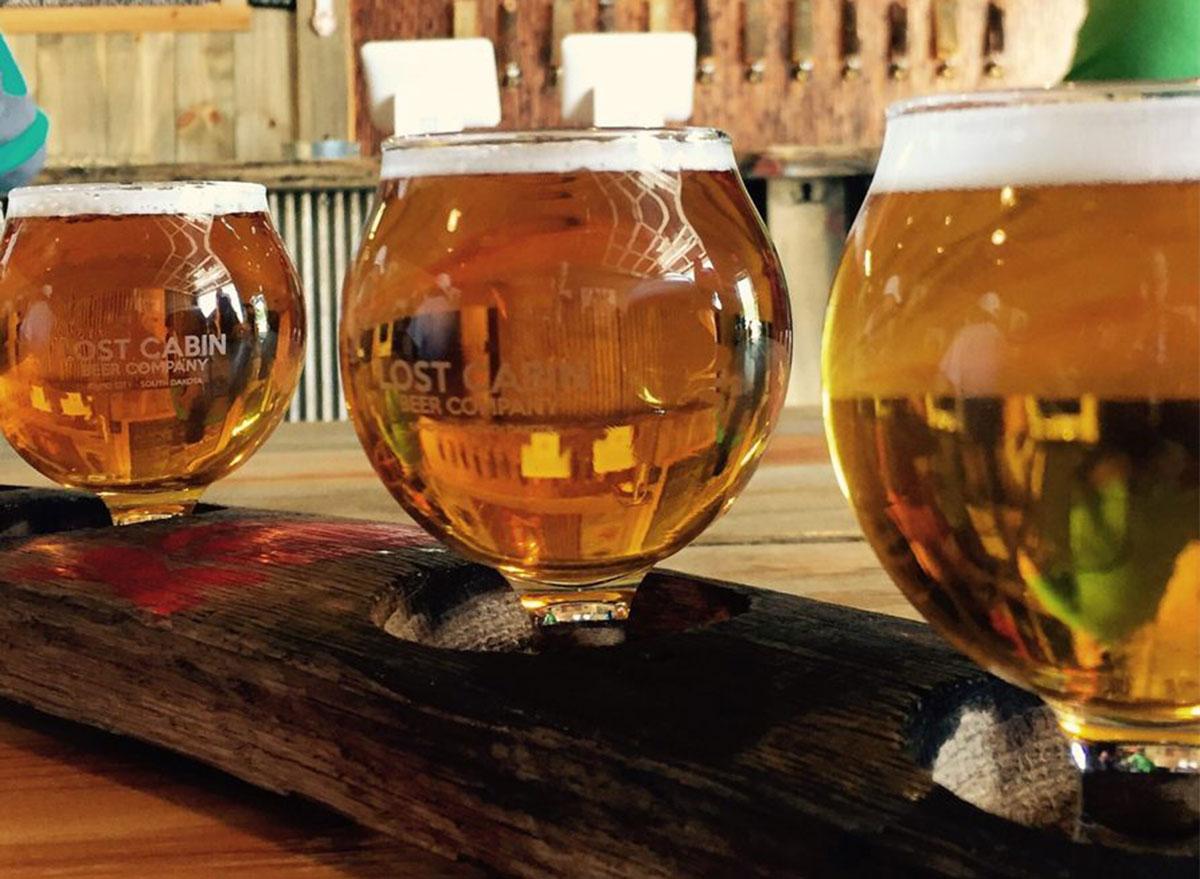 south dakota lost cabin beer