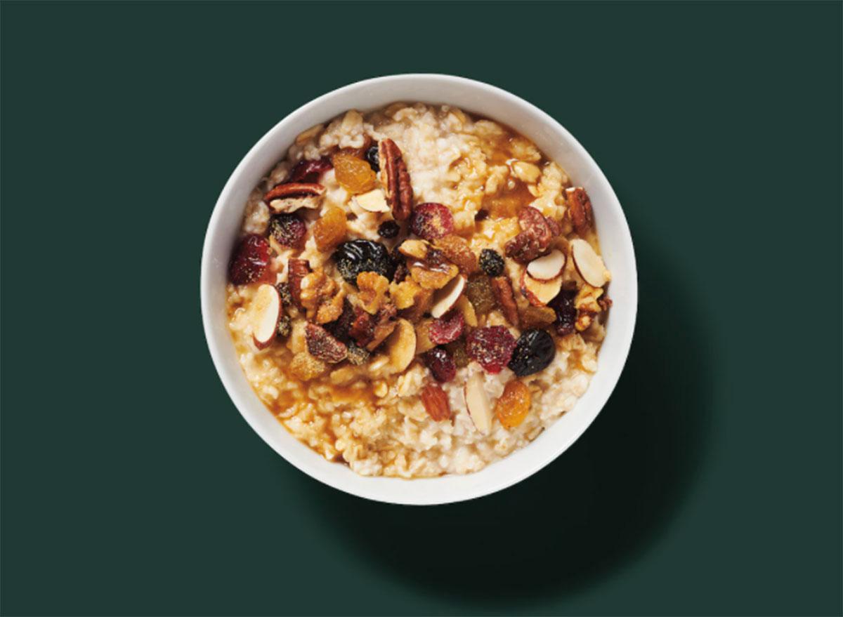 starbucks classic oatmeal