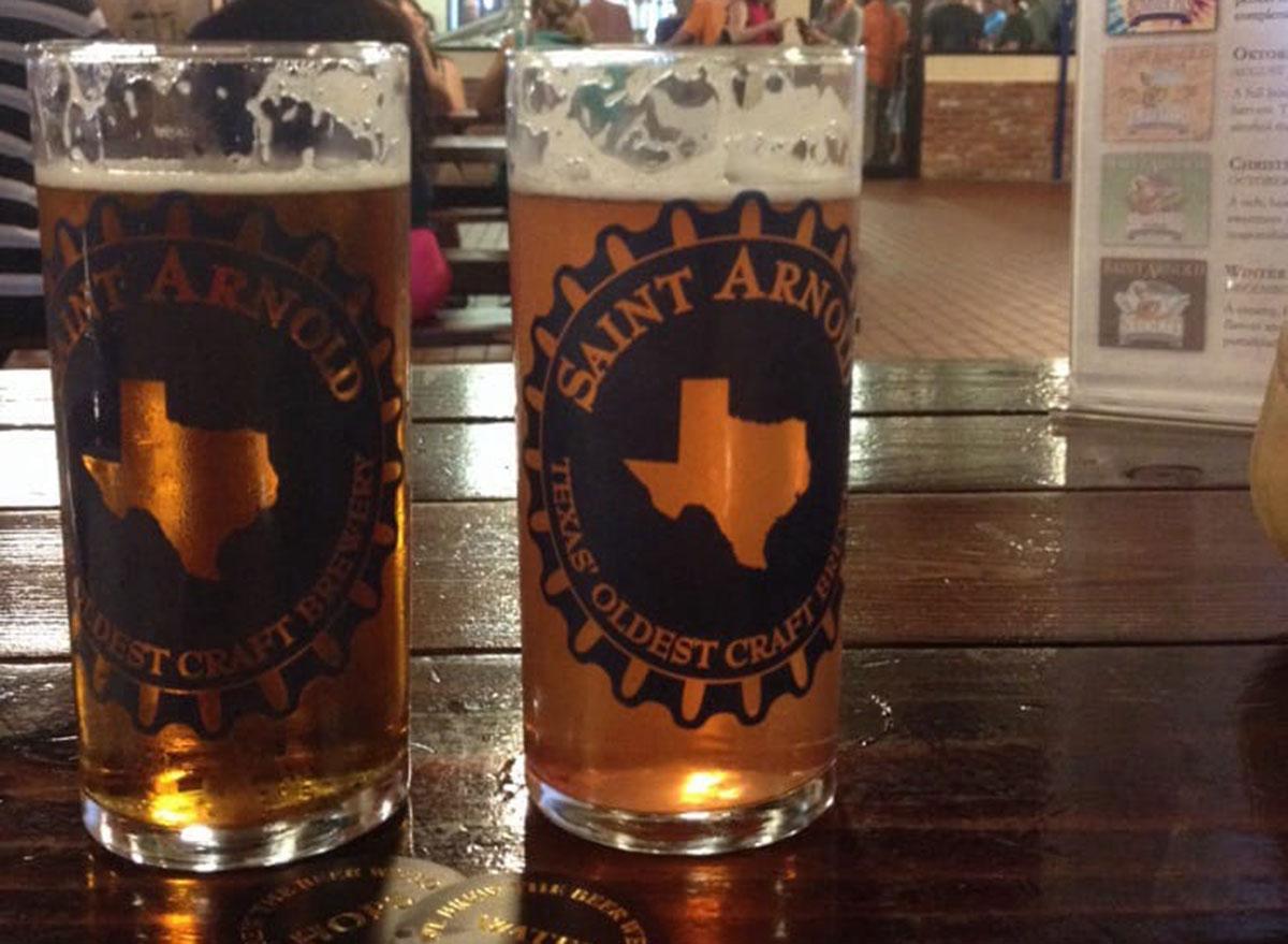 texas saint arnold brewing company