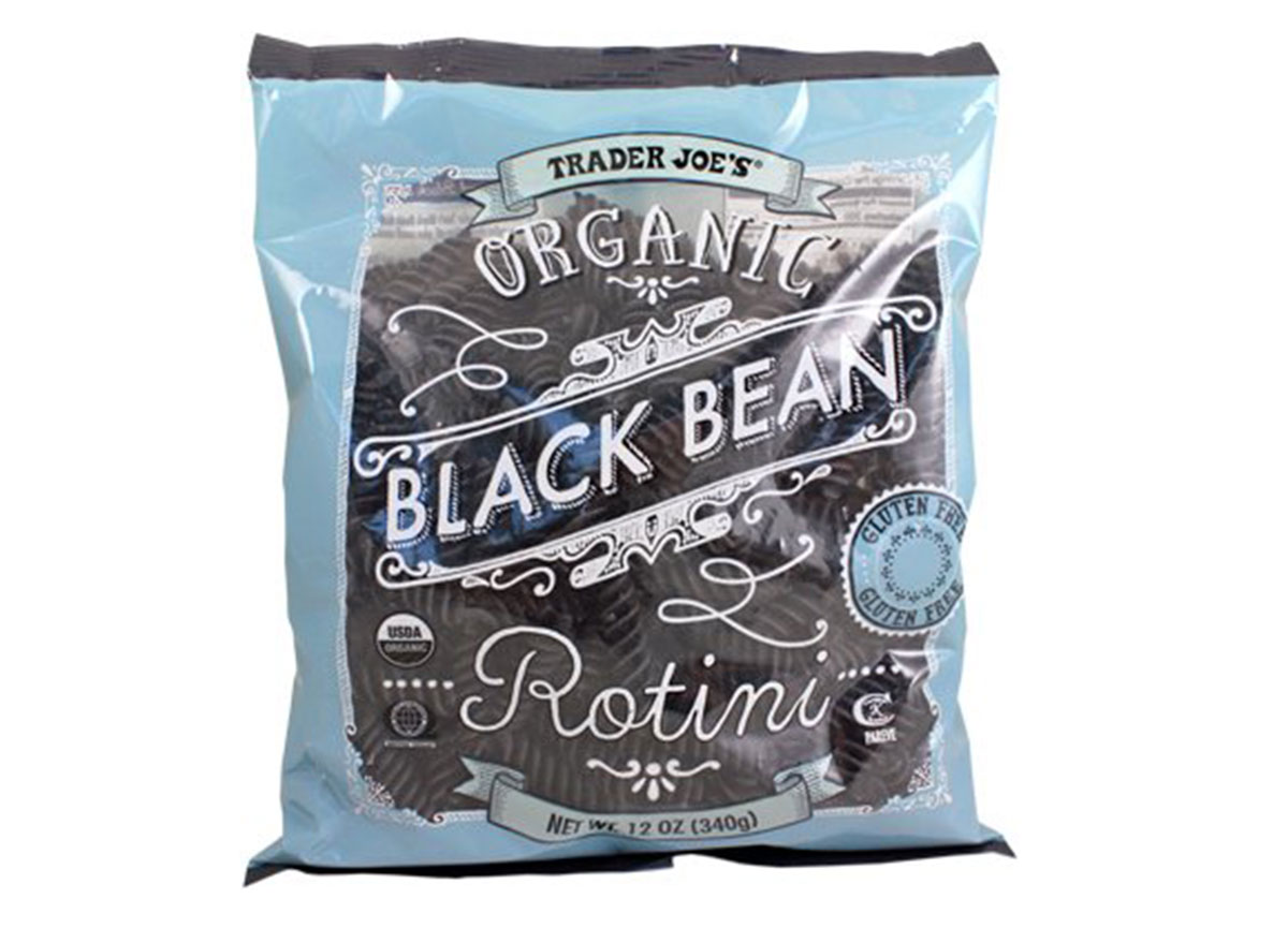 trader joes black bean rotini