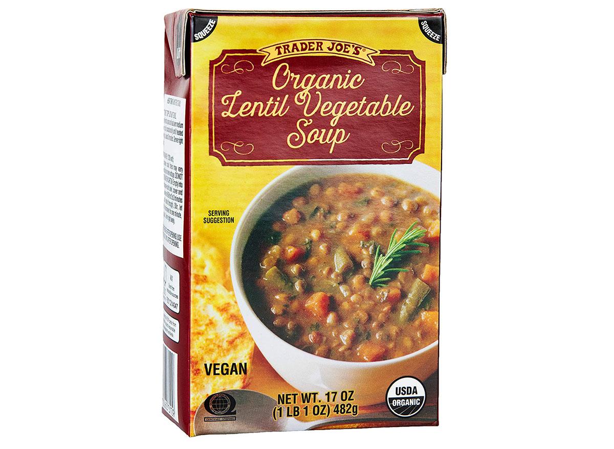trader joes lentil vegetable soup