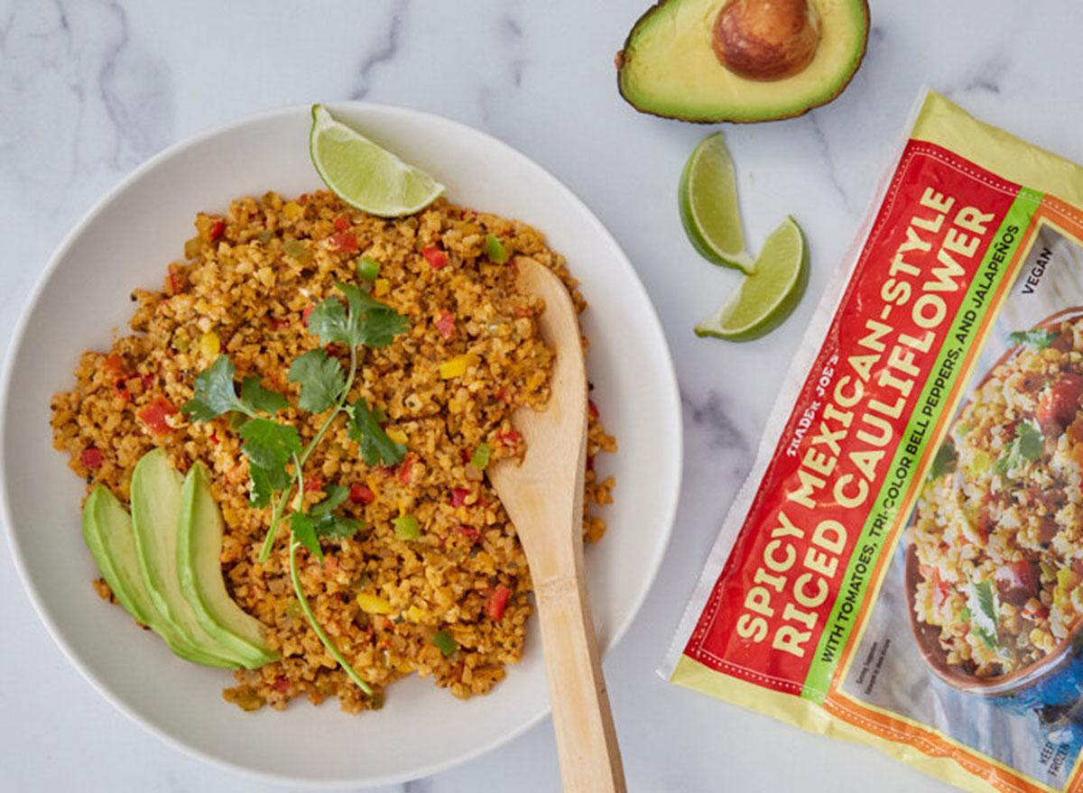 trader joes mexican riced cauliflower