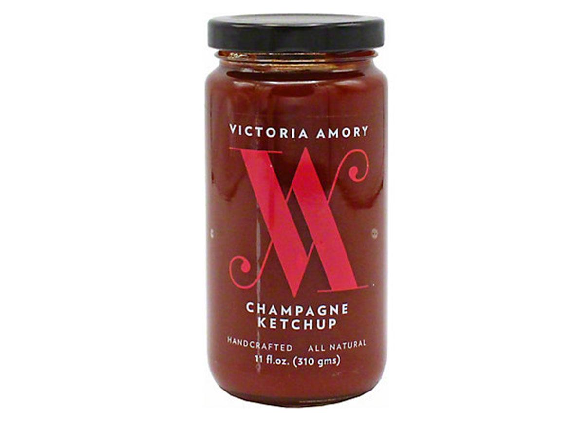 victoria amory champagne ketchup