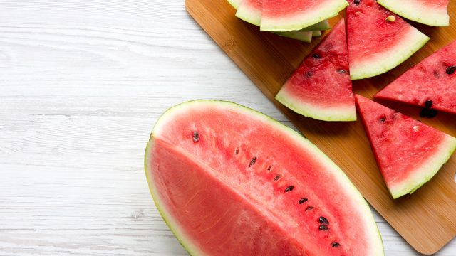 watermelon from above
