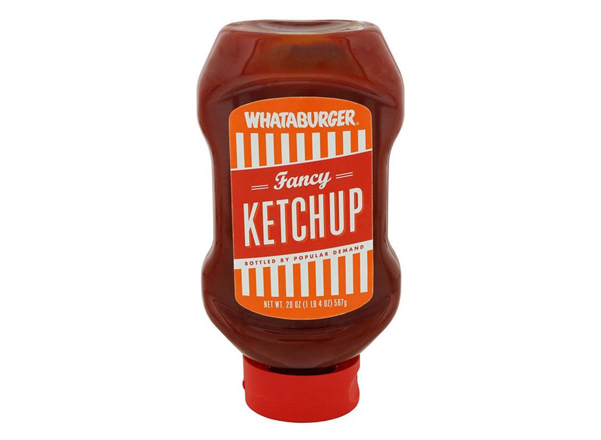 whataburger fancy ketchup