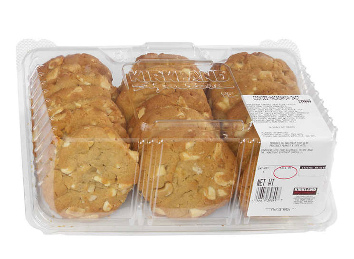 white chunk double nut cookie