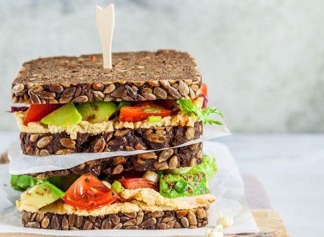 whole grain sandwich
