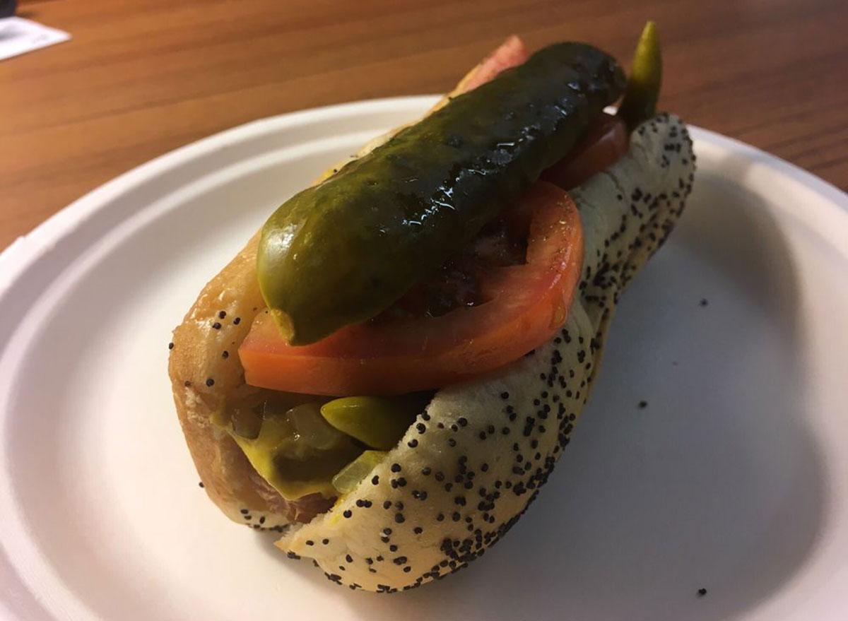 wisconsin hot dog Matt M./ Yelpavenue