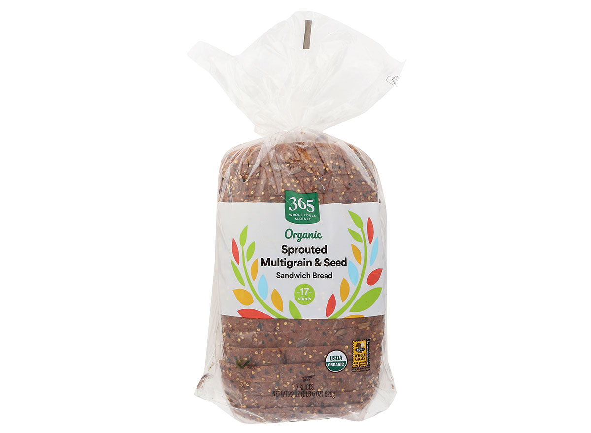 365 foods sprouted multigrain