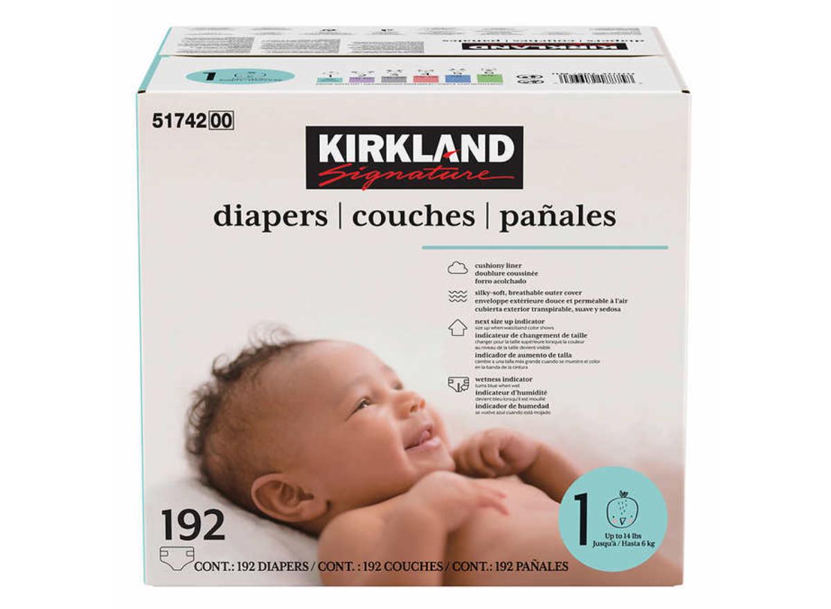 Kirkland Signature Diapers