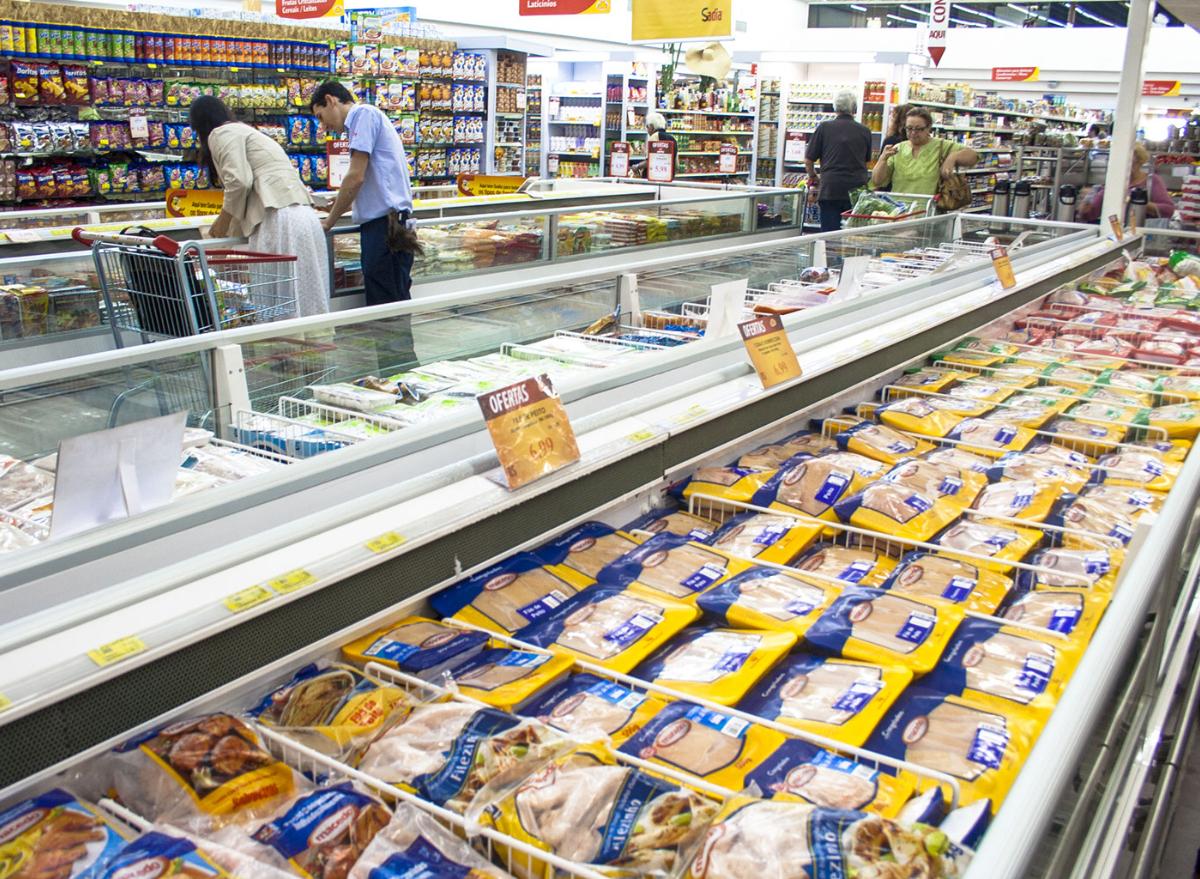 Grocery frozen chicken