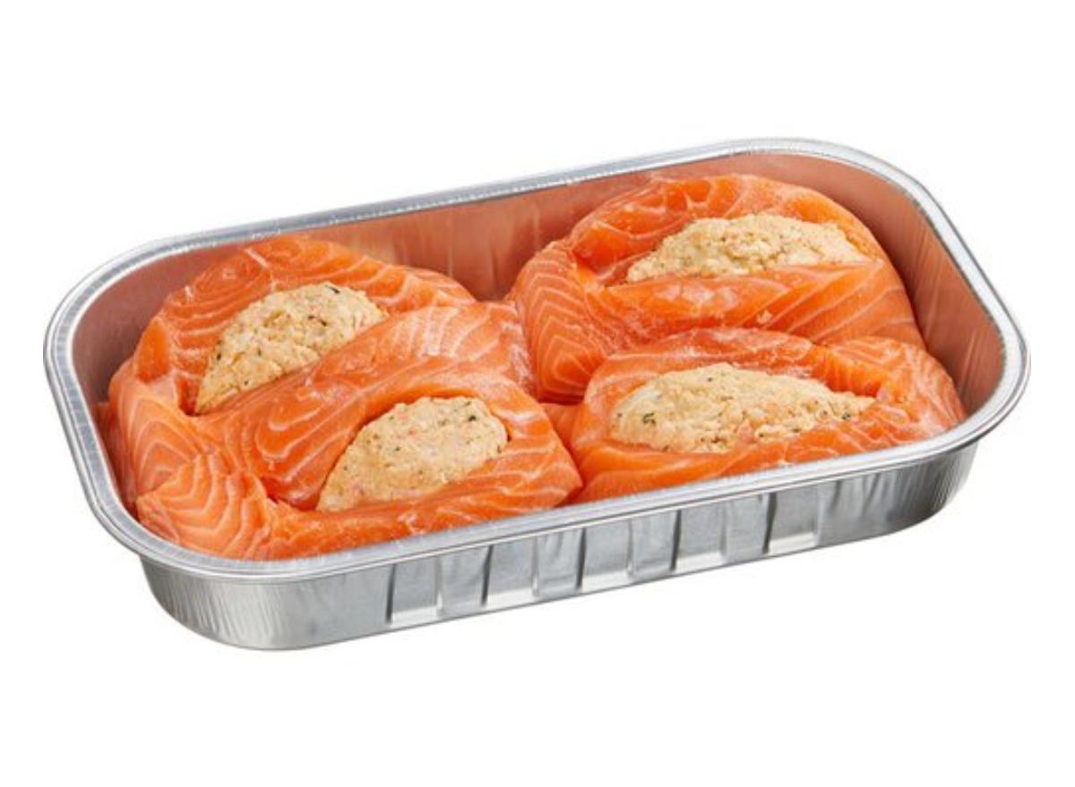 Costco stuffed salmon