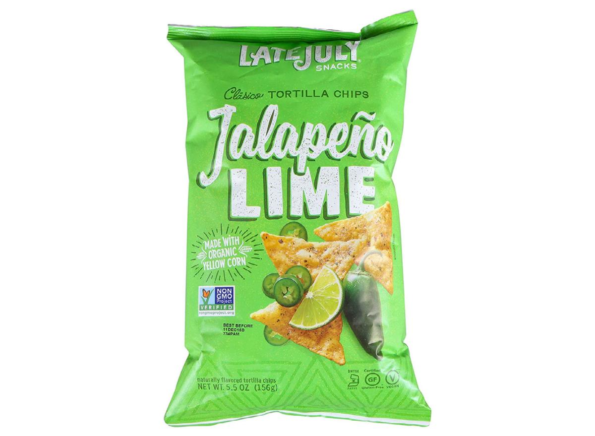 Late July Jalapeño Lime tortilla chips