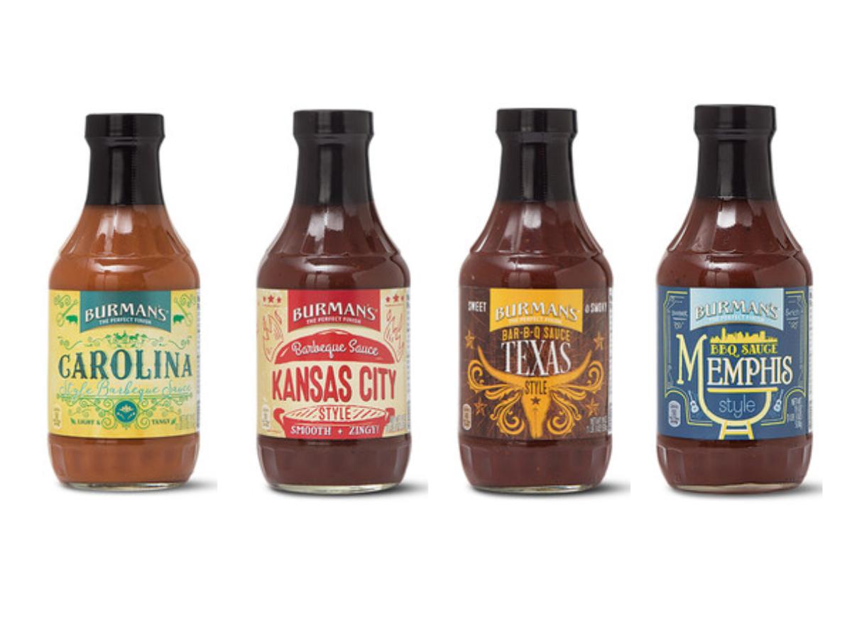 Burman's Regional-Style BBQ Sauces