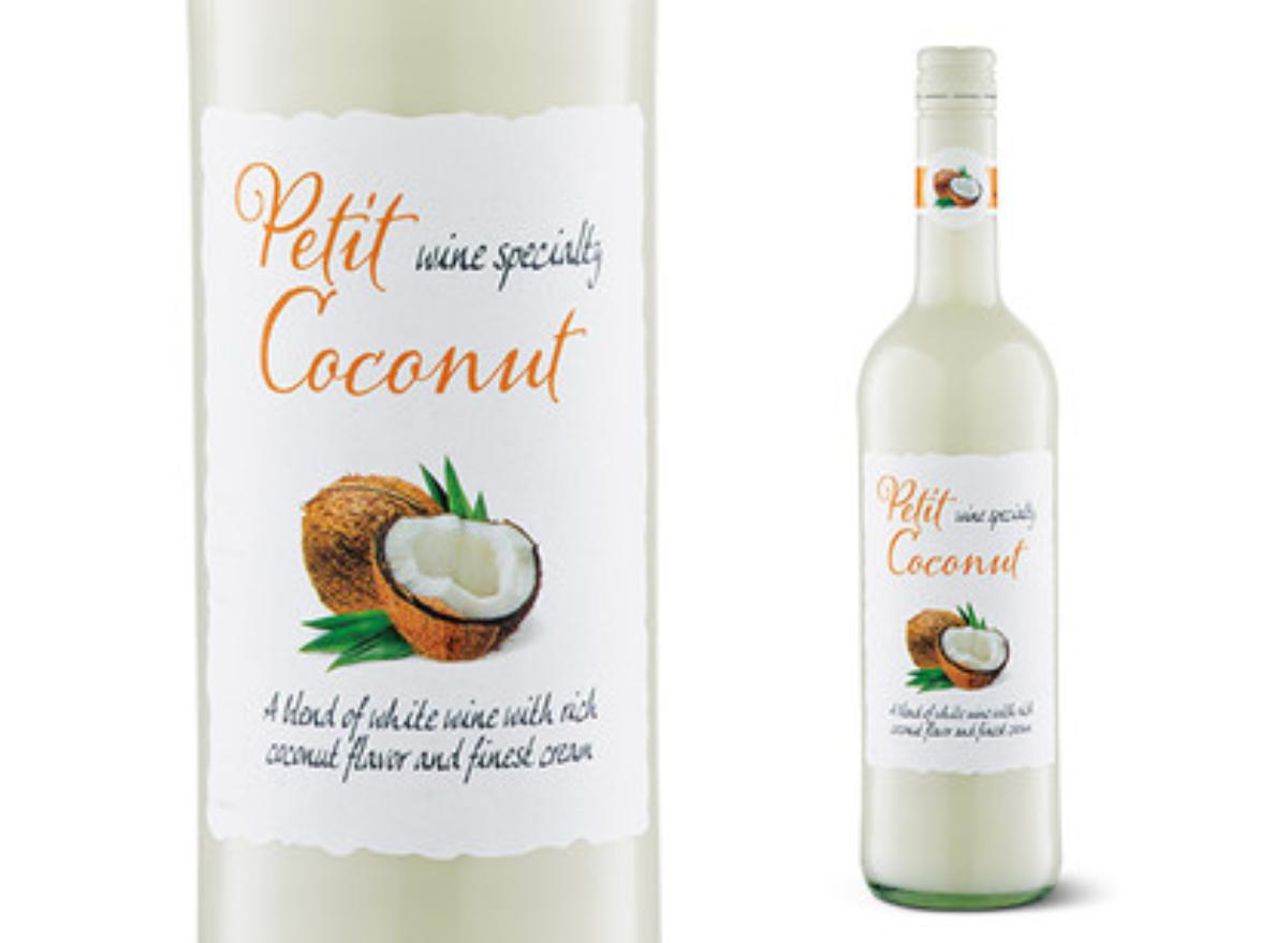 Petit Coconut Wine Specialty ALDI