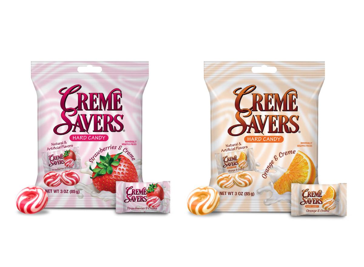 Creme Savers Iconic Candy