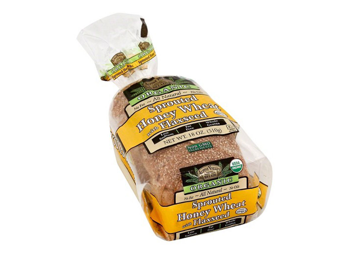 alpine valley breads sprouted honey wheat