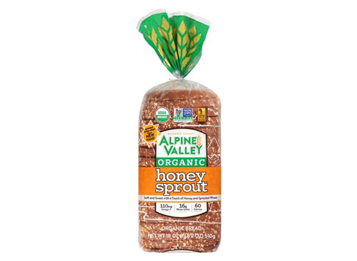 alpine valley honey sprout bread