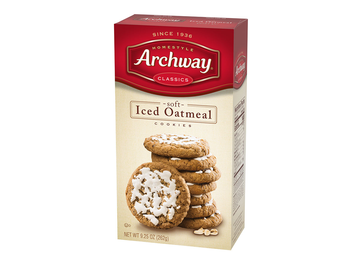 archyway oatmeal cookies