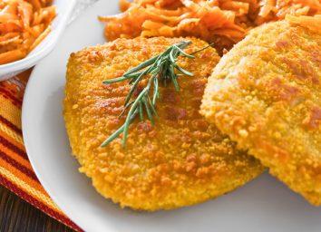 breaded chicken patties