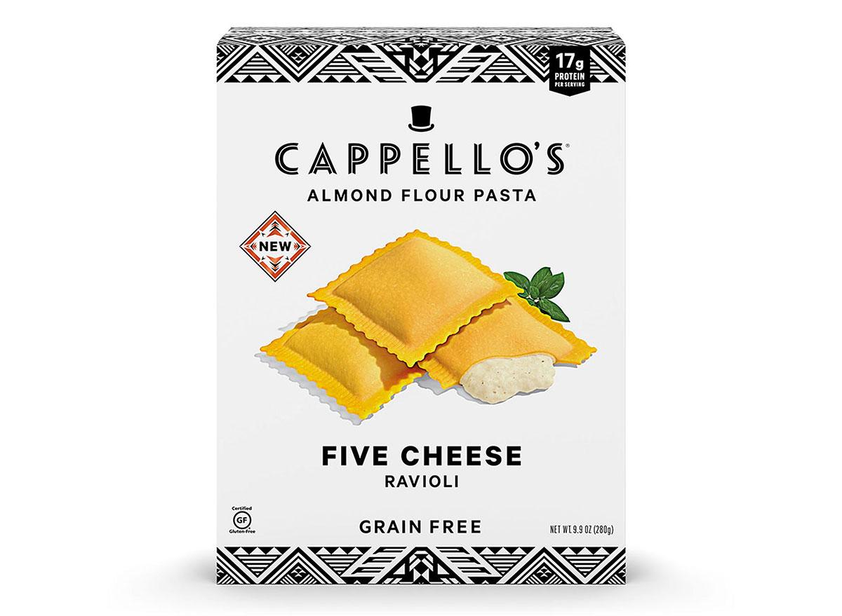 cappellos five cheese ravioli