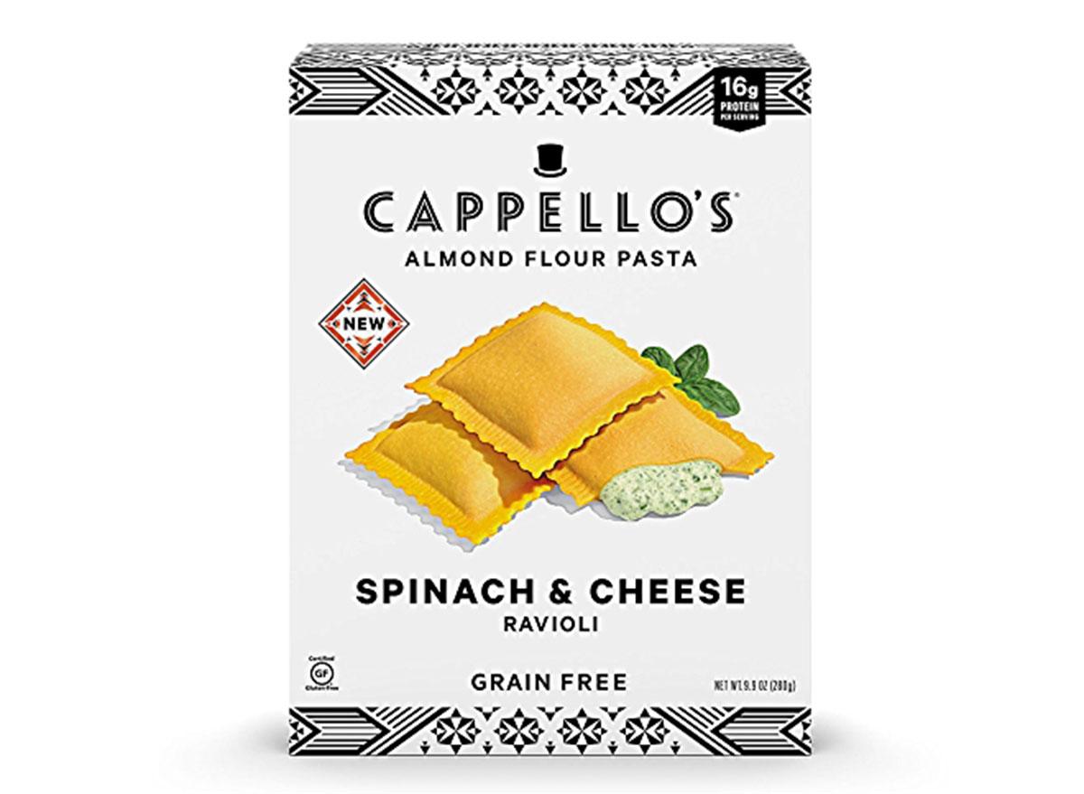 cappellos spinach cheese ravioli