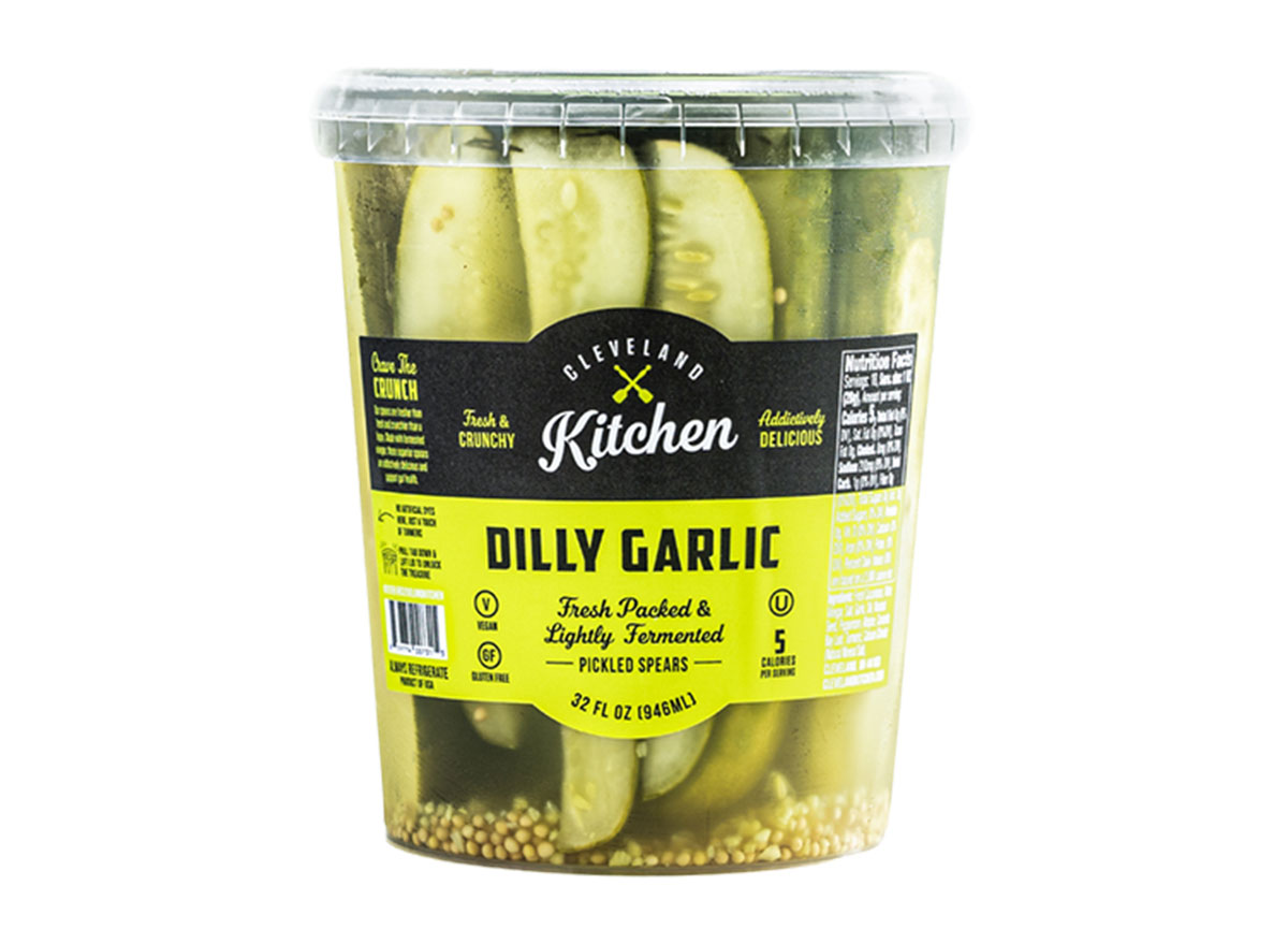 cleveland kitchen dilly garlic pickled spears