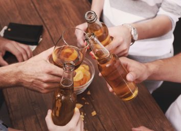 drinking bar