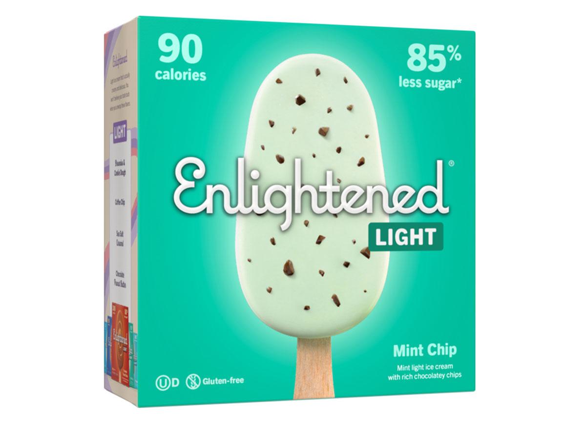 enlightened ice cream bars mint