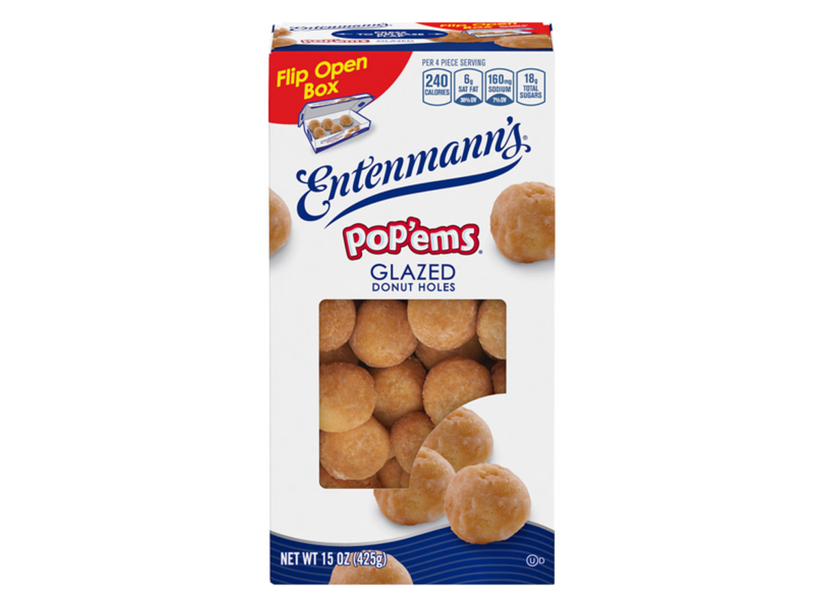 entenmenns popems glazed donut holes