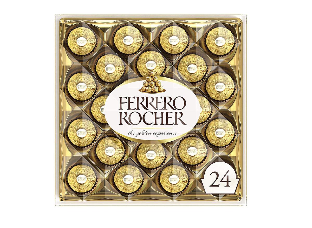 ferrero rocher hazelnut milk chocolate