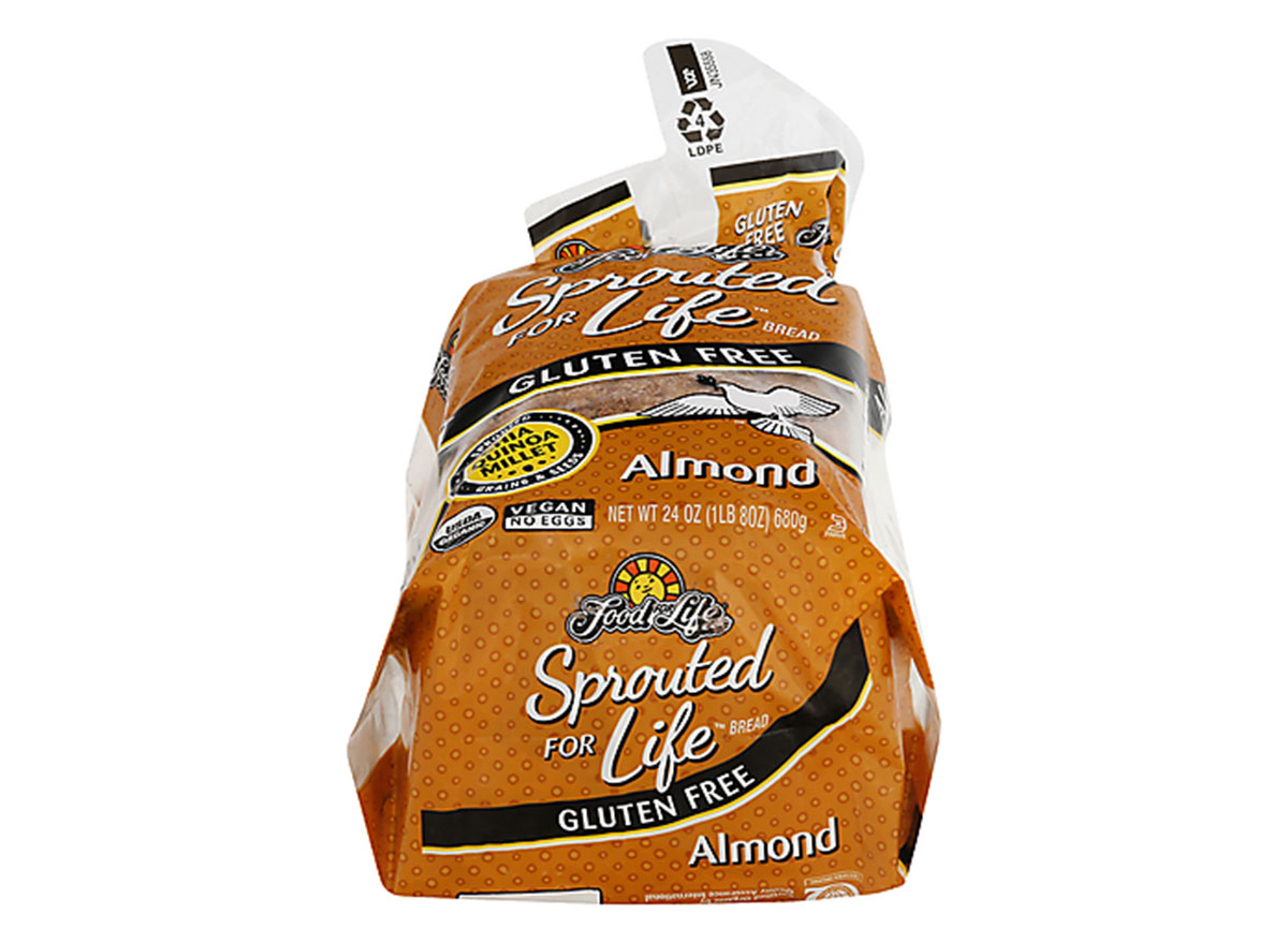 food for life sprouted life almond bread