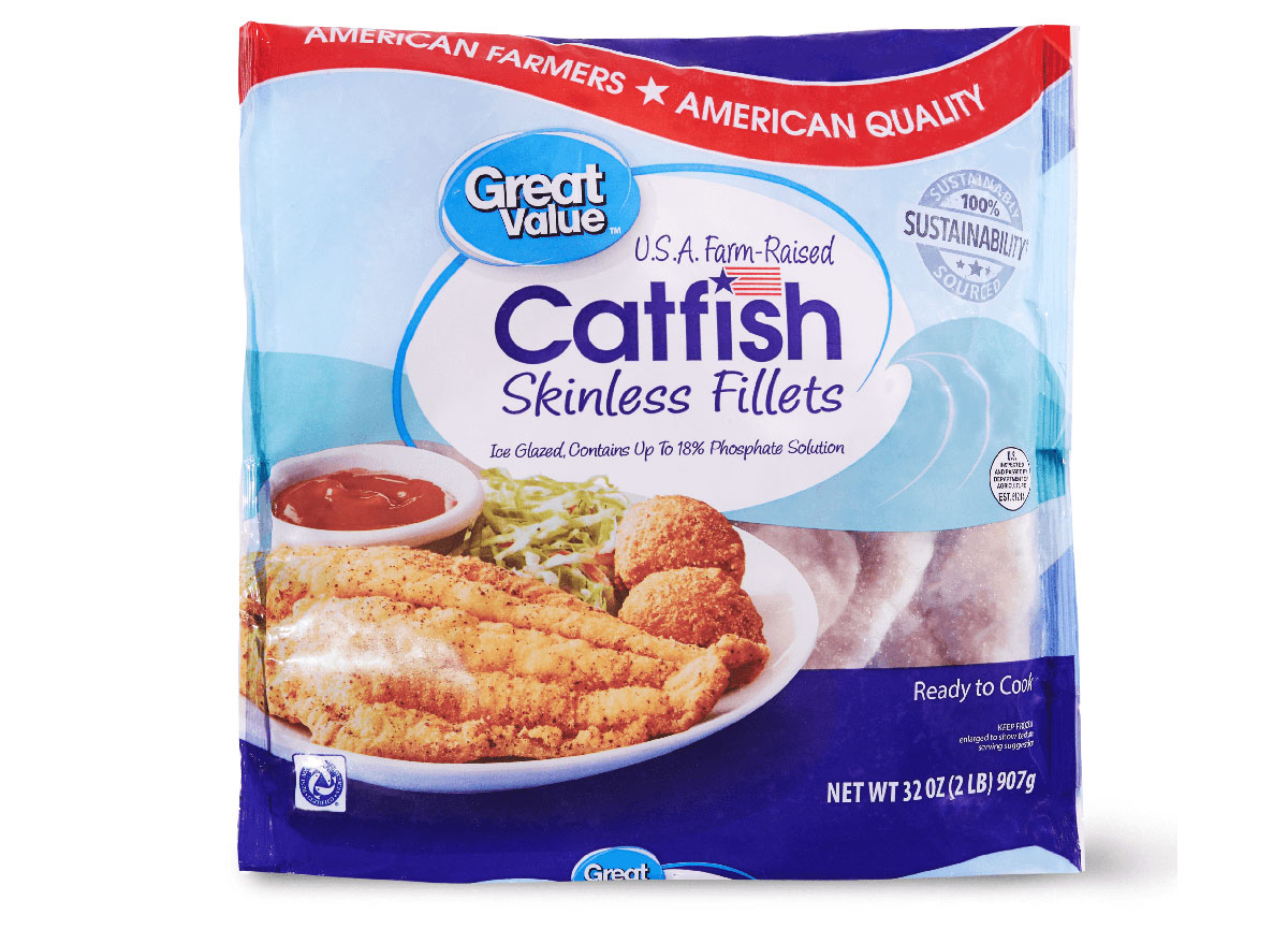 frozen catfish fillets