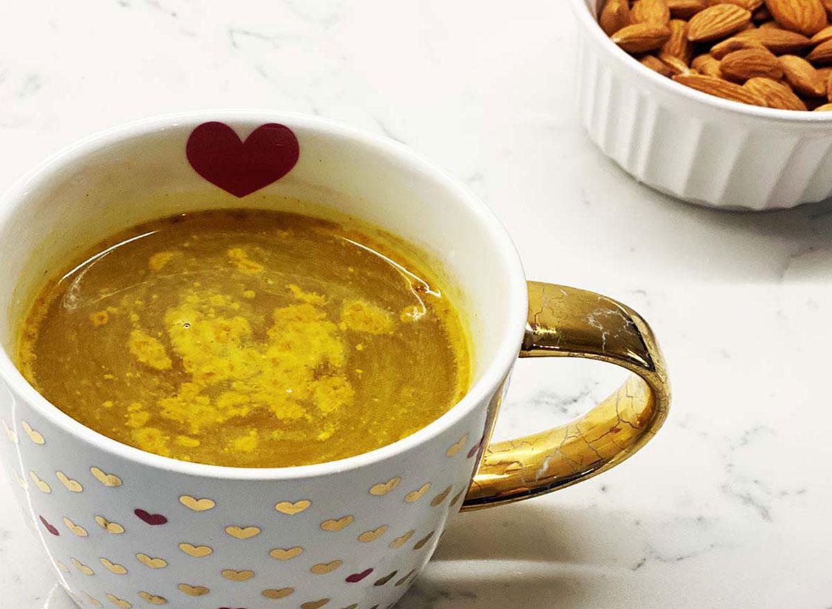 golden hour gold milk