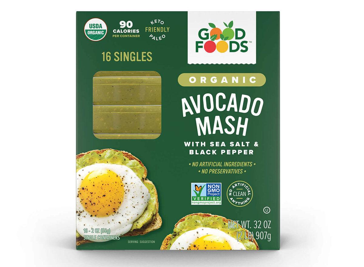 good foods organic avocado spread
